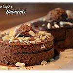 recette Mousse au chocolat façon Bavarois