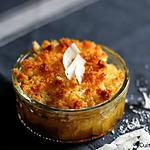 recette Ananas rôti et son crumble coco