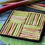 recette Tarte à la rhubarbe