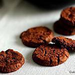 recette Sablés au chocolat à la fleur de sel