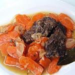 recette Joues de boeuf aux carottes