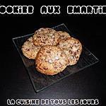 recette Cookies aux pépites de Chocolat et Smarties