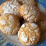 recette Ghrieba (macaron) à la semoule fine