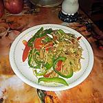 recette wok de nouilles chinoises au tofu