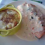recette cassolette de légumes et son saumon
