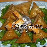 recette Briwates au foie de poulet