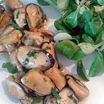 recette moules en persillade (recette express)