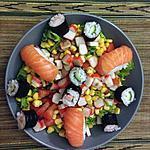 recette Salade d'été, saveurs asiatiques