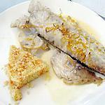 recette daurade grise au pamplemousse