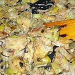 recette Fondue de poireaux et panais à la cannelle