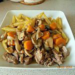 recette Sauté de veau au porto
