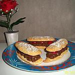 recette éclaire biscuité choco-cerise à ma façcon