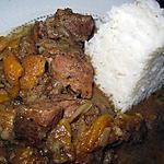 recette Sauté de porc aux 4 épices et aux abricots