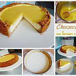 recette Cheesecake au lemon curd