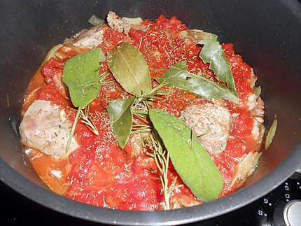 Sauce stuffatu à la viande pour pâtes 430
