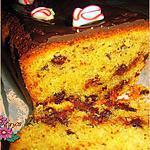 recette cake au chocolat, avec glaçage....un régal!