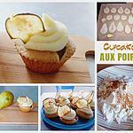 recette Cupcakes aux poires