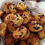 recette Chouquettes à la fleur d'oranger et pépites de chocolat