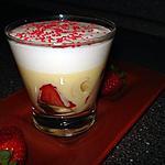 recette Trifle banane-fraise