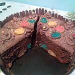 recette Mon moelleux au chocolat pop cake surprise