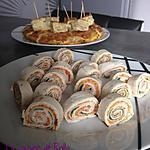 recette Wraps twinuts, dinde et roquette d'Elisa