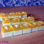 recette Panna cotta coco et mangue