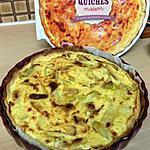 recette Quiche au pesto, courgettes et parmesan
