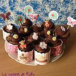 recette Cupcakes chocolat noisette