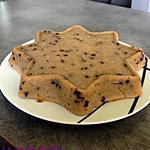 recette Gâteau aux flocons d'avoine et pépites de chocolat