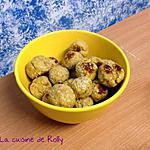 recette Boulettes de poulet au sésame