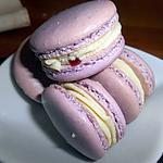 recette Macaron chocolat blanc fruits rouges