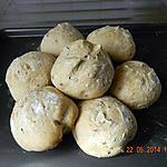 recette Petits pains aux céréales