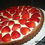 recette Tarte aux fraises et aux 2 chocolats