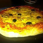 recette Pizza montagnard