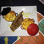 recette Gratin de courgette et poivrons au carré frais à l'ail avec la bavette