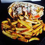 recette Kebab au poulet épicée sauce blanche