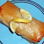 recette Brick saumon et fondu de poireaux