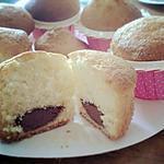 recette Muffins cœur Nutella (comme les mandises du Mac Do)
