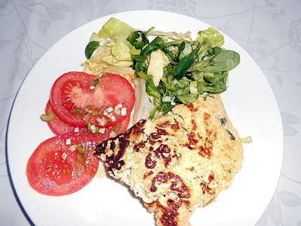 Omelette au brocciu 430