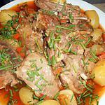 recette Ragout d agneau aux pommes grenaille