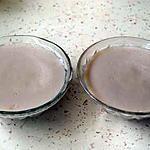 recette Crème à la fraise bonbon