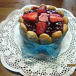recette Charlotte aux fraises mascarponne.