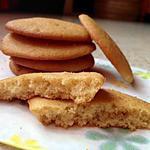 recette Petits biscuits moelleux vanille/fleur d'oranger
