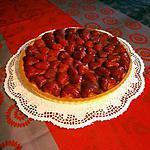 recette C'est de saison, TARTE AUX FRAISES sans gluten toujours...