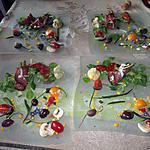 recette entrée  jambon  asperges ,,recette revisitée de kaderick en cuisine