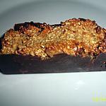 recette barre de son d'avoine à la crème de banane et cacahuète caramélisé