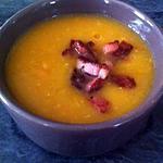 recette Velouté de carottes, cumin, lardon
