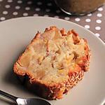 recette Gâteau allégé pommes et bananes sans matières grasses