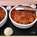 recette Crumble rose...