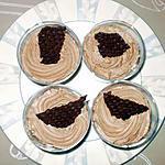 recette crème mousseuse au chocolat